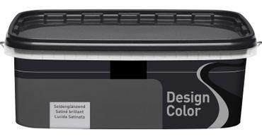 (5,40€/L) Design Color Dispersionsfarbe/Wandfarbe seidenglänzend 2,5l, FARBWAHL! – Bild 11