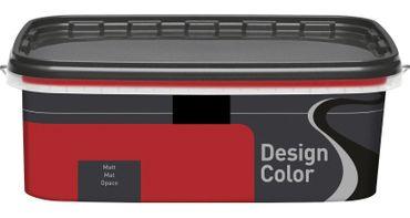 (8,99€/L) Design Color farbige Wandfarbe, Innenfarbe matt 1l, FARBWAHL!! – Bild 16