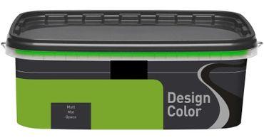 (8,99€/L) Design Color farbige Wandfarbe, Innenfarbe matt 1l, FARBWAHL!! – Bild 23