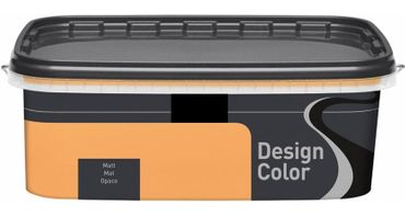 (8,99€/L) Design Color farbige Wandfarbe, Innenfarbe matt 1l, FARBWAHL!! – Bild 24