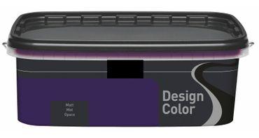 (8,99€/L) Design Color farbige Wandfarbe, Innenfarbe matt 1l, FARBWAHL!! – Bild 22