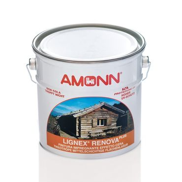 (9,99€/L) Amonn Lignex Renova Plus 2,5L, Hoher UV-Schutz, Tropft nicht, Farbwahl – Bild 1