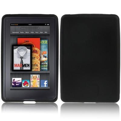 Silikon Case für Amazon Kindle Fire Schutzhülle Schwarz Back Silicon Skin Cover