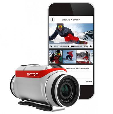 TOMTOM/TOM TOM BANDIT PREMIUM PACK ACTION SPORT FUN CAM GPS WIFI VIDEO KAMERA