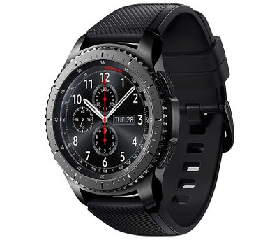 SAMSUNG GEAR S3 FRONTIER MULTI SPORT SMART WATCH GPS UHR BLACK ACTIVITY TRACKER
