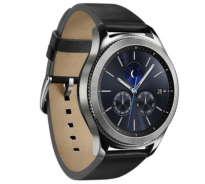 SAMSUNG GEAR S3 CLASSIC MULTI SPORT SMART WATCH GPS UHR SILVER ACTIVITY TRACKER