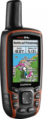 "GARMIN GPS MAP 64S OUTDOOR PROFI NAVIGATION VIELE FUNKTIONEN 6,6 CM 2,6"" DISPLAY"
