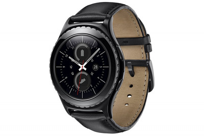 SAMSUNG GEAR S2 CLASSIC MULTI SPORT SMART WATCH GPS UHR BLACK ACTIVITY TRACKER