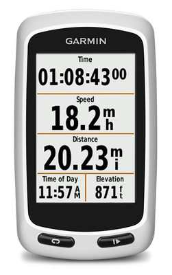 "Garmin Edge Touring Biker/Fahrrad Computer GPS Navigation 6,6 cm 2,6"" Display"