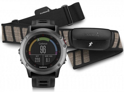 GARMIN FENIX 3 MULTI SPORT WATCH GPS UHR PERFORMER BUNDLE+HRM HERZFREQUENZMESSER