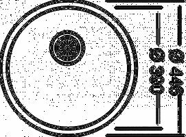 Rundspüle inkl. Zubehör, Edelstahlspüle, Einbauspüle, Waschbecken, Küchenspüle – Bild 2