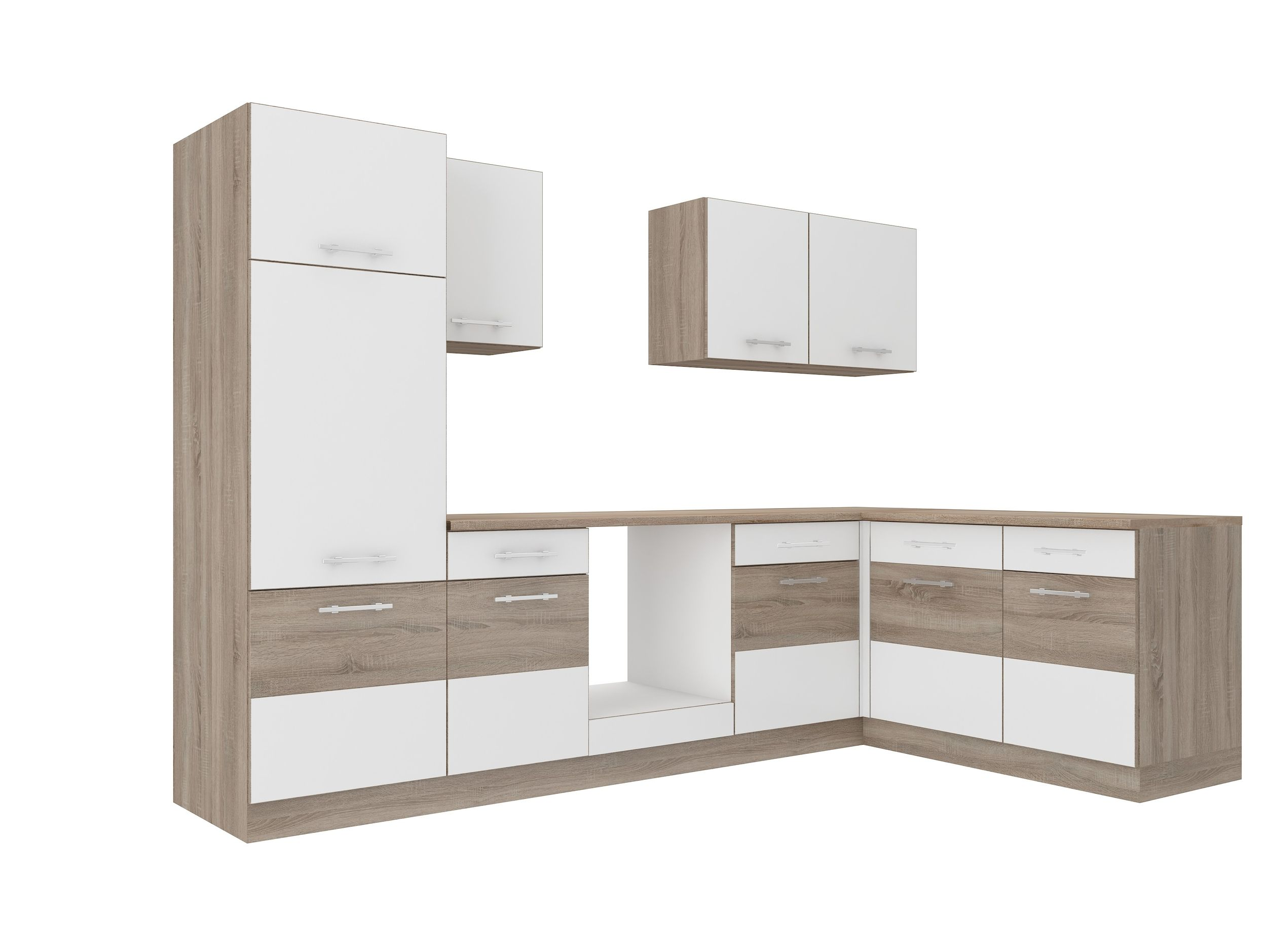 kuchen zubehor koln, küche köln 172x280 cm küchenzeile in sonoma eiche trüffel + weiss, Design ideen