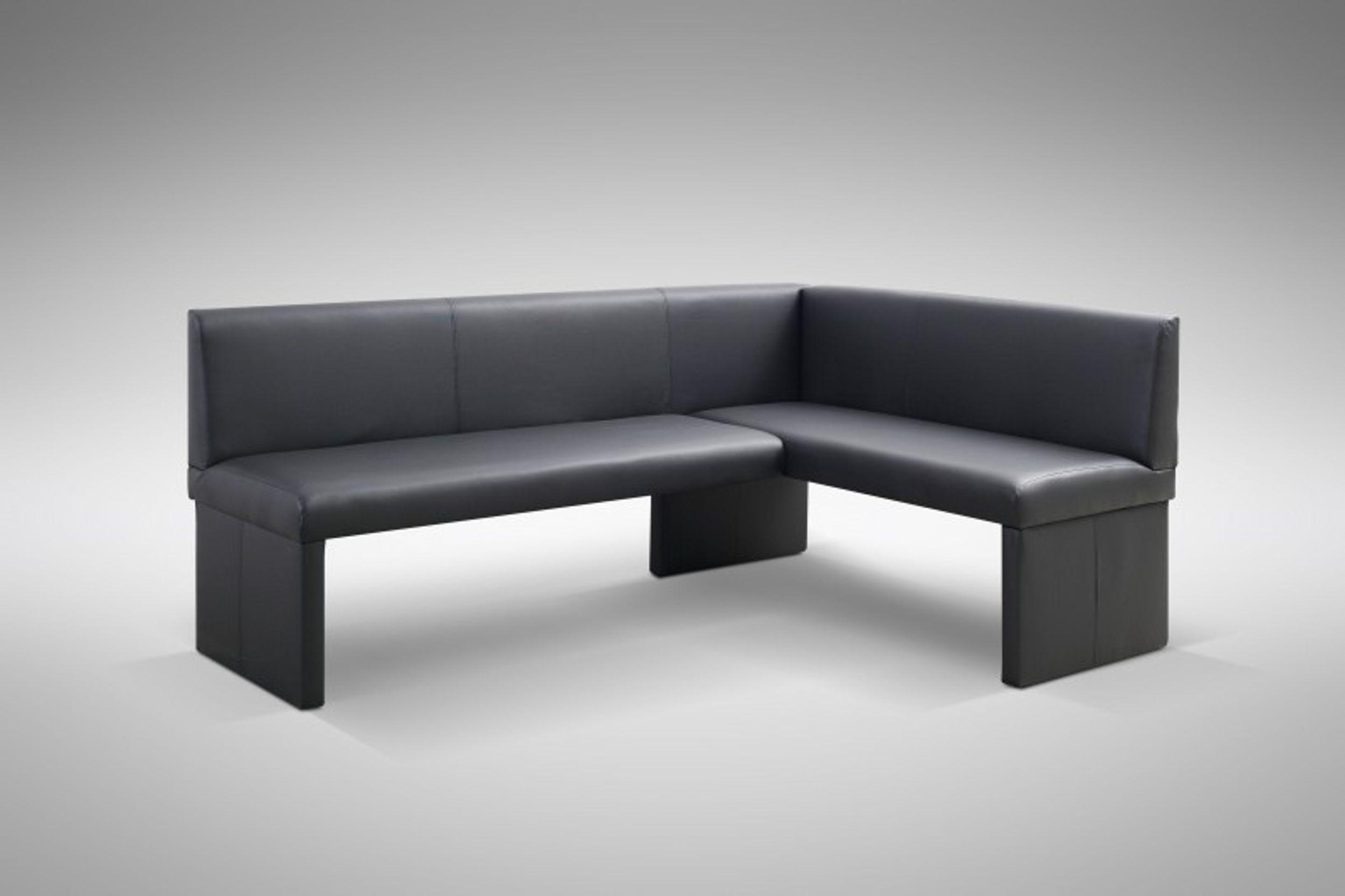 design eckbank otto modern kunstleder schwarz links polsterm bel eckb nke. Black Bedroom Furniture Sets. Home Design Ideas