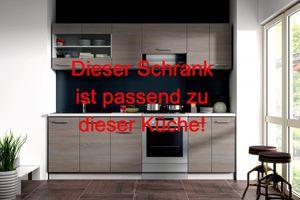 Küche Dave 240 Cm Küchenzeile Küchenblock Variabel Stellbar In