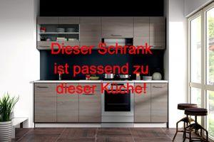 """Küchen Eckunterschrank 89x89 cm für das Modell """"Dave 240 Eiche Sonoma Trüffel"""" – Bild 3"""
