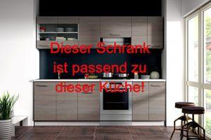 """Küchen Eckhängeschrank 58x58 cm für das Modell """"Dave 240 Eiche Sonoma Trüffel"""" – Bild 3"""