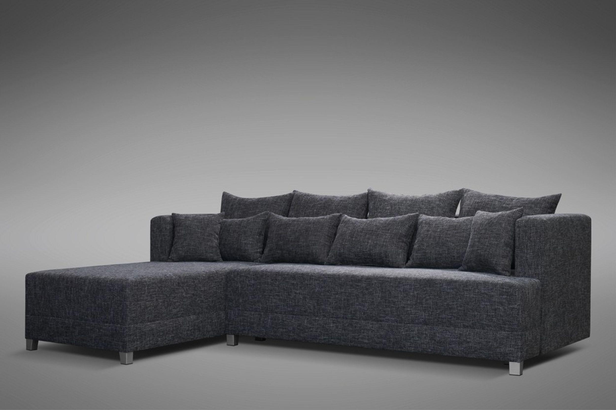 Schlafsofa Sofa Couch Ecksofa Eckcouch In Grau Mit Schlaffunktion