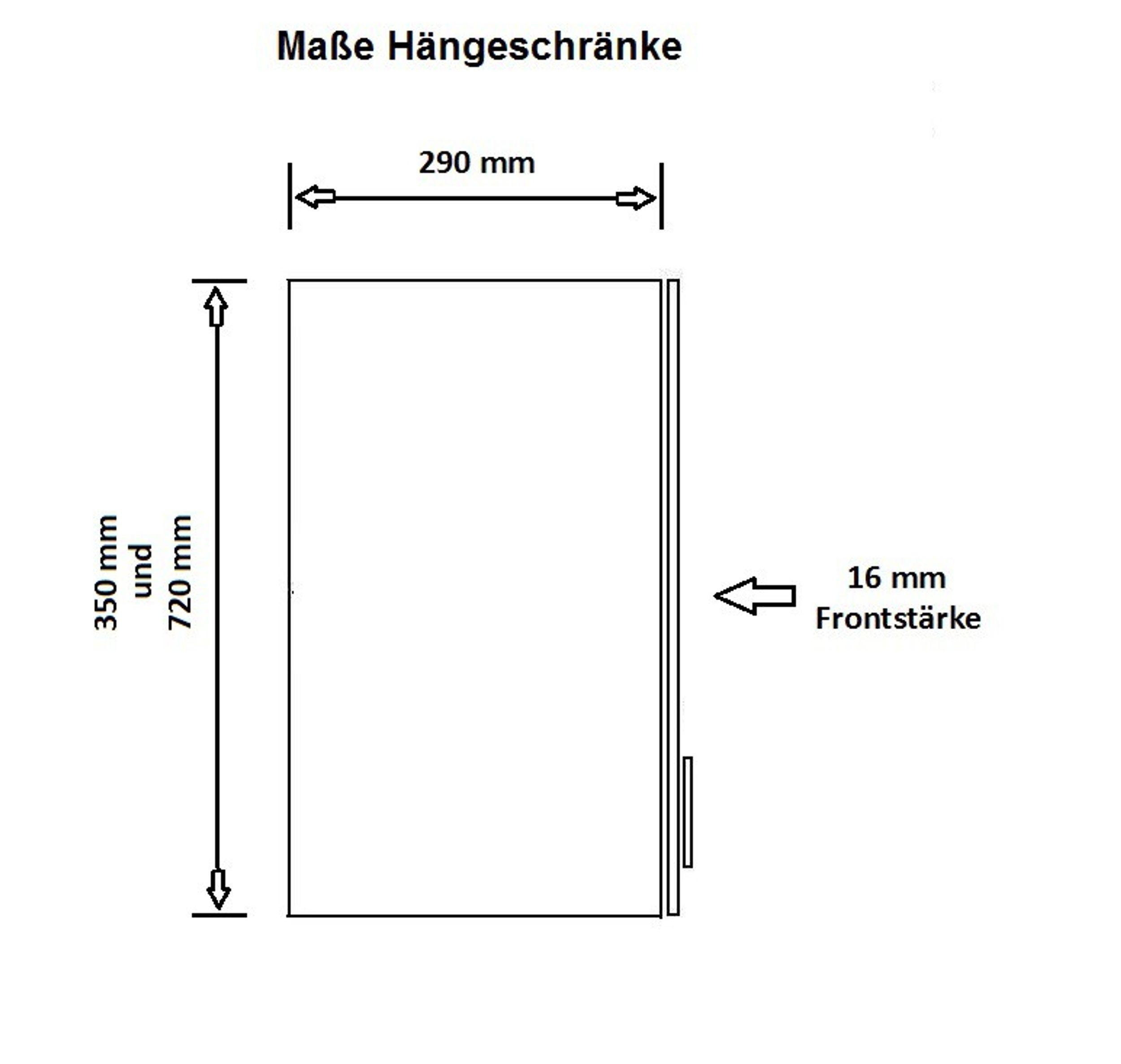 Küche Color 340 cm Küchenzeile Küchenblock Einbauküche in Hochglanz Grau / Weiss – Bild 4