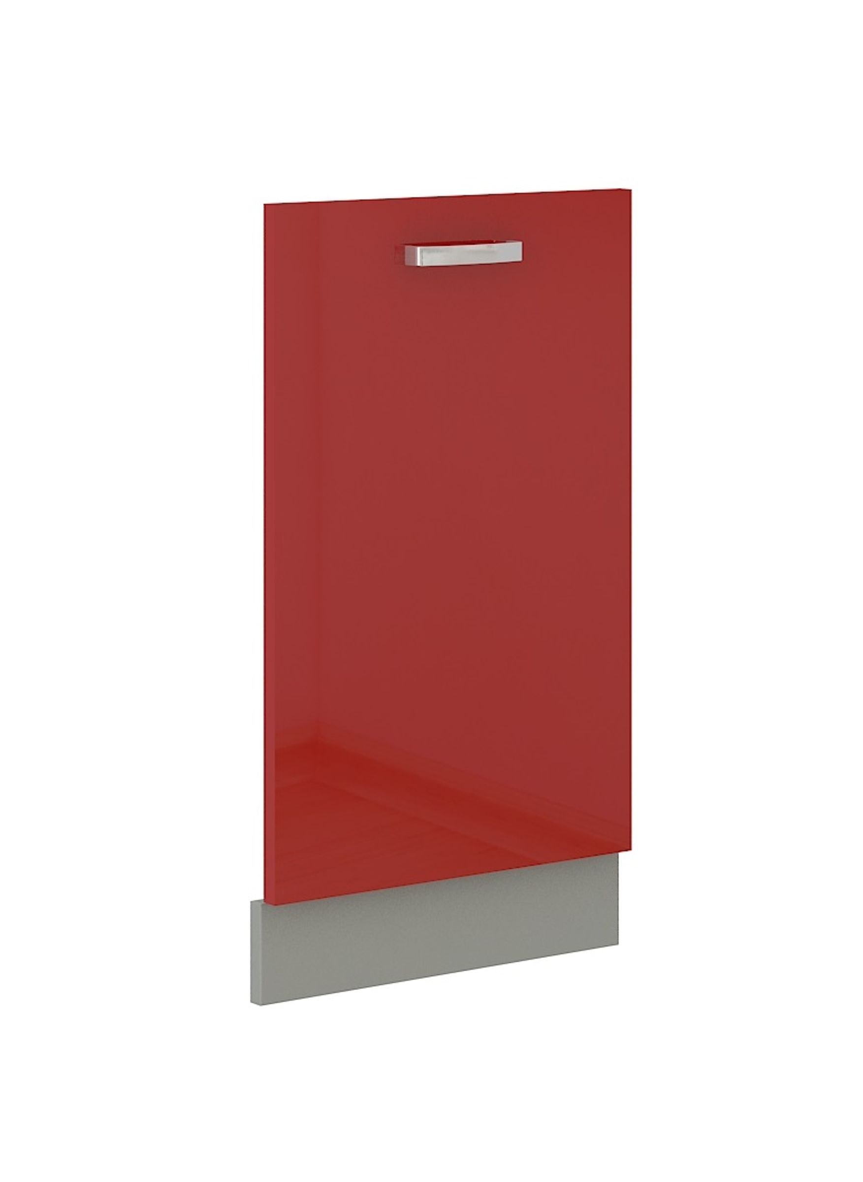 Frontblende für vollintegrierten Geschirrspüler 45 cm Rose Hochglanz Rot – Bild 1
