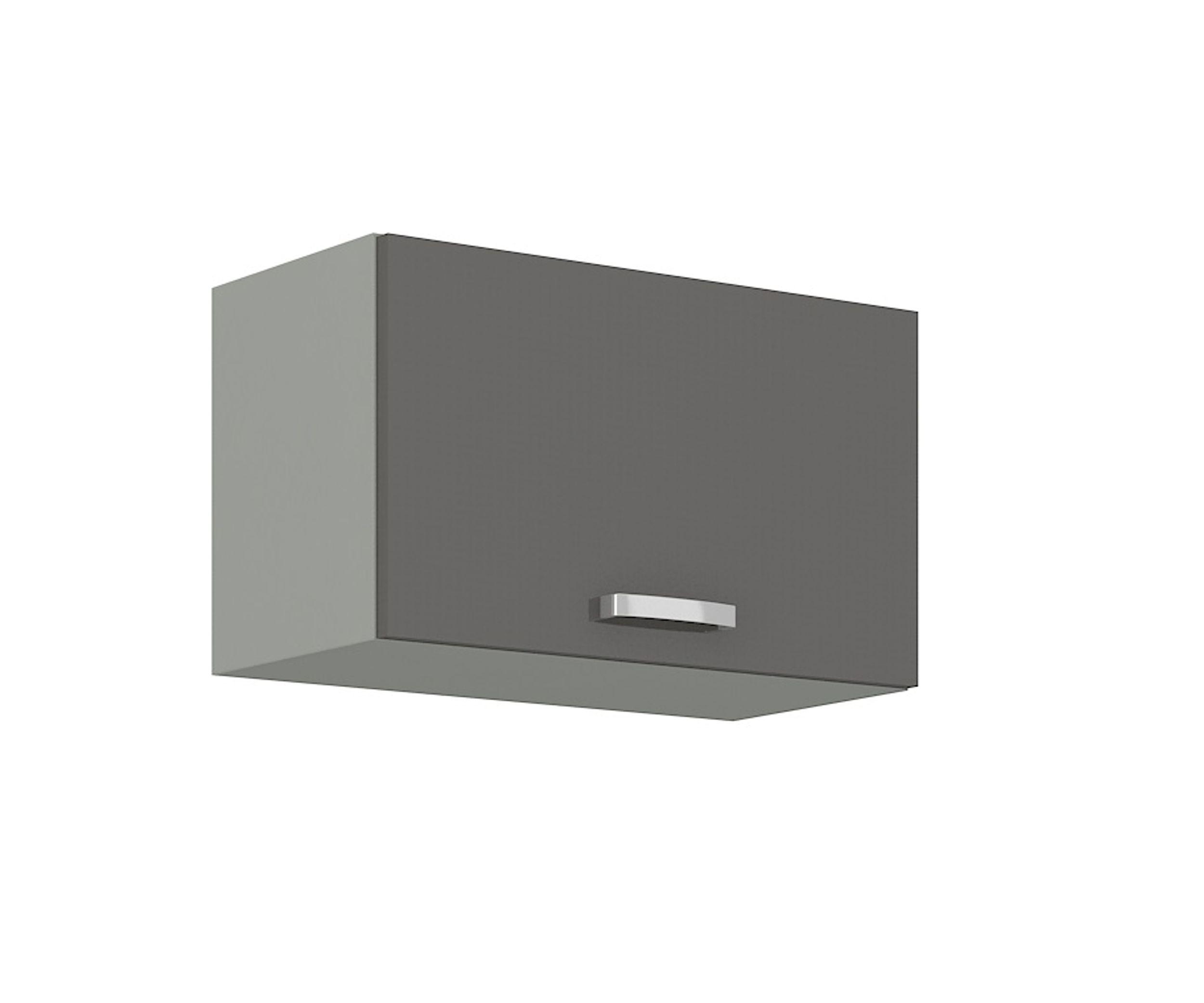 Küchen Hängeschrank 20 Grey Hochglanz Grau Küchenzeile Küchenblock Küche  Vario