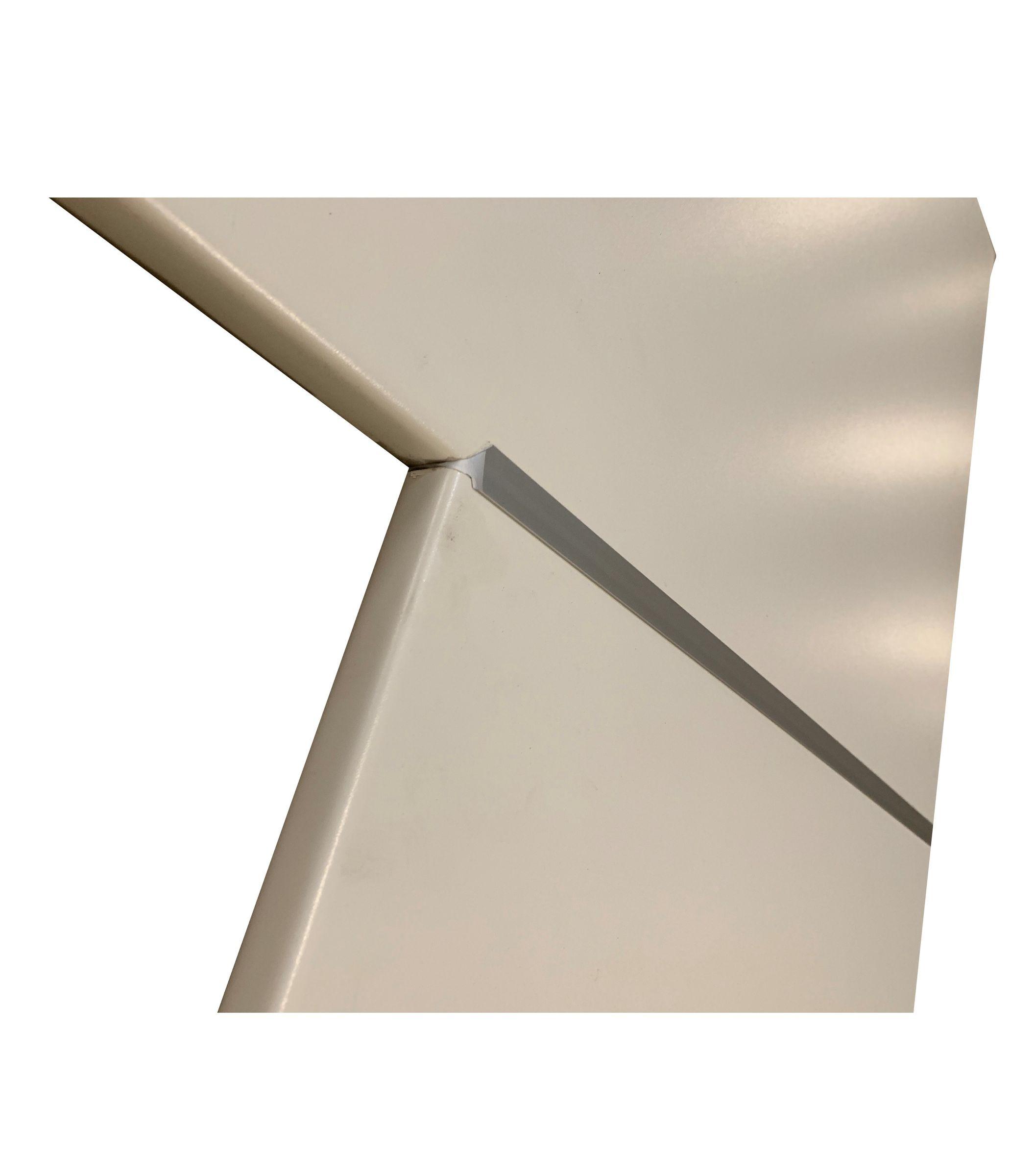 Eckverbindungsschiene Aluminium 28 Mm Arbeitsplatten Schiene Fur Eck Verbindung Kuechen Preisbombe