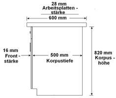 Küche Vario Ecke VI 210x330 cm Küchenzeile in Hochglanz Rot + Weiss Küchenblock  – Bild 4