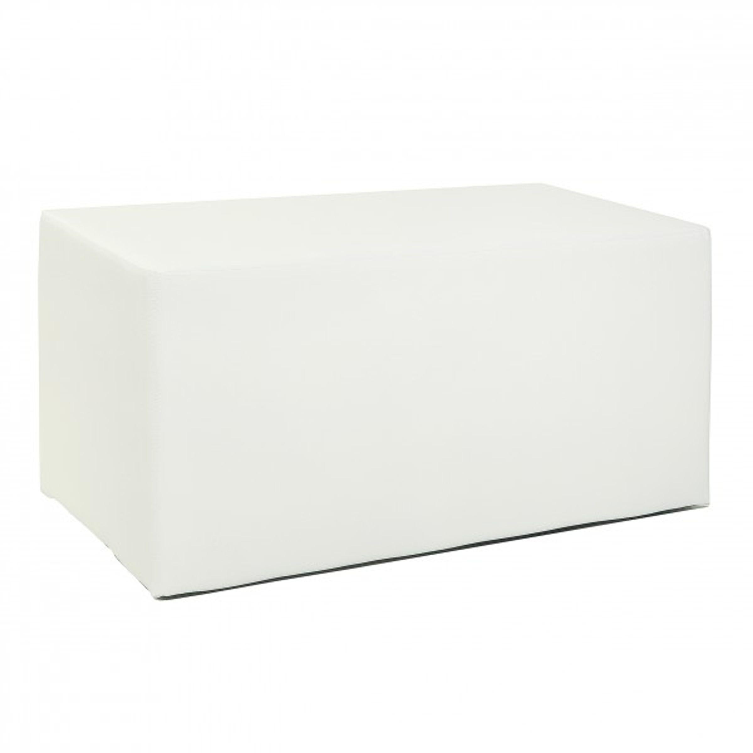 sitzw rfel kubus ii hocker kunstleder sitzbank 90x45x45 cm. Black Bedroom Furniture Sets. Home Design Ideas