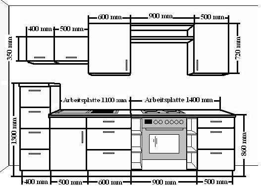 Maße Küchenblock küchenmöbel maße kochkor info