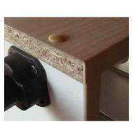 Küche Trend 290cm Küchenzeile/Küchenblock variabel stellbar in hochglanz weiss / nussbaum – Bild 5