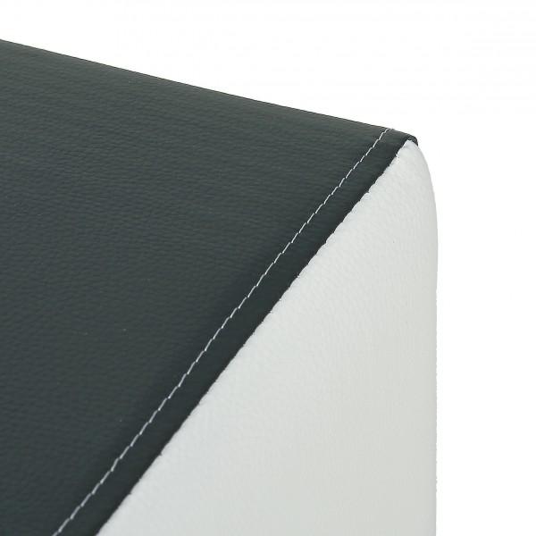 Design Sitzwürfel Kubus I Plus Kunstleder Hocker modern 45x45x45 ... | {Hocker modern schwarz 34}
