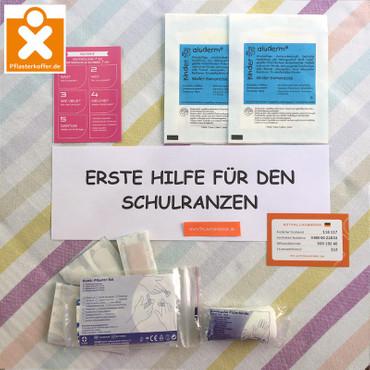 Erste Hilfe Set für den Schulranzen Refill