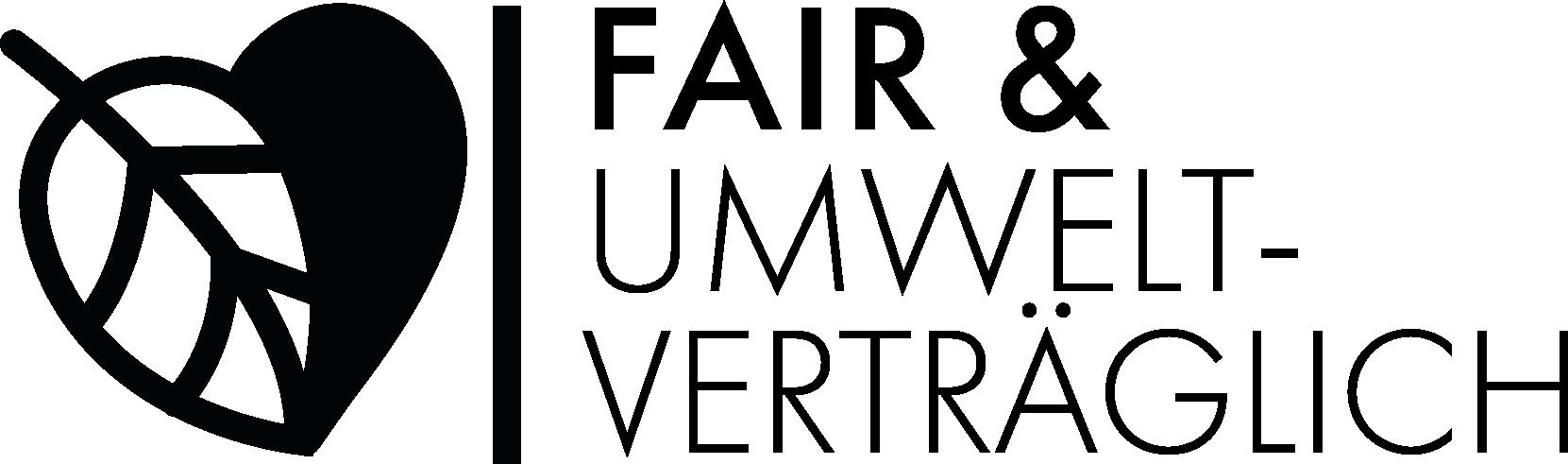 Logo fair und nachhaltig