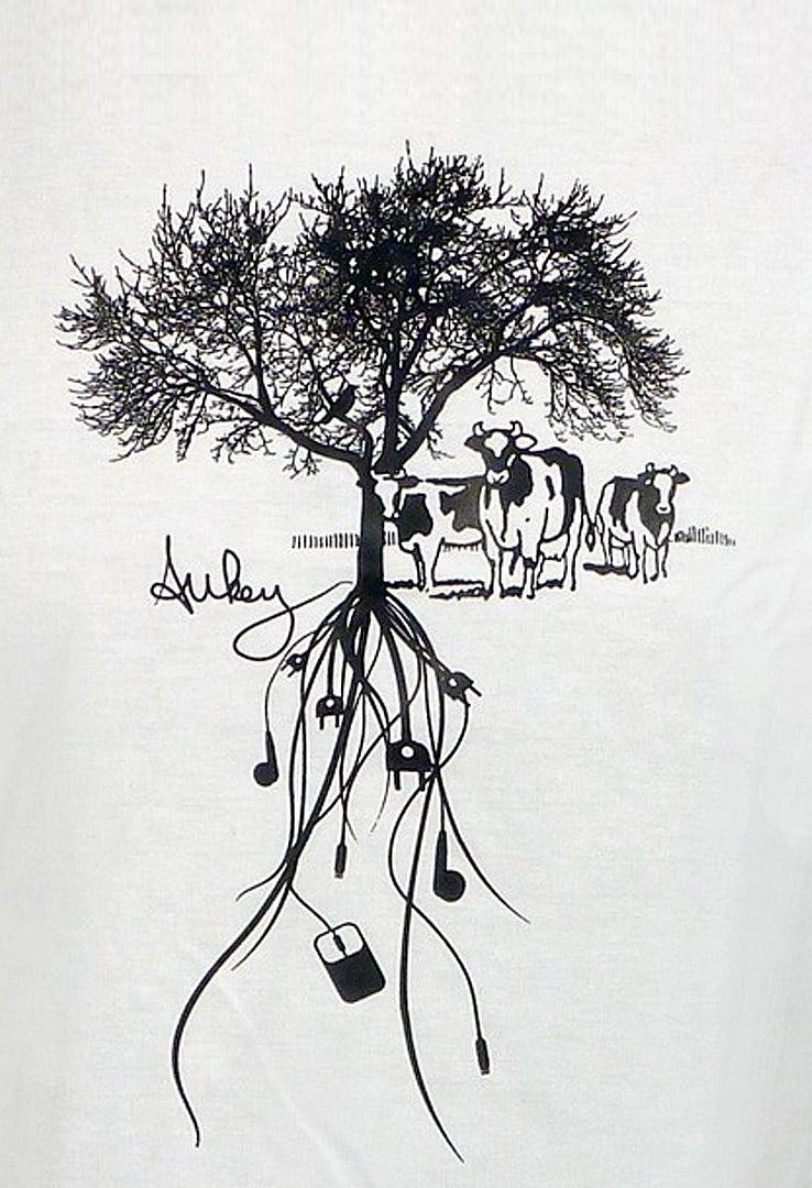 T-Shirt Elektrobaum von Home Edition