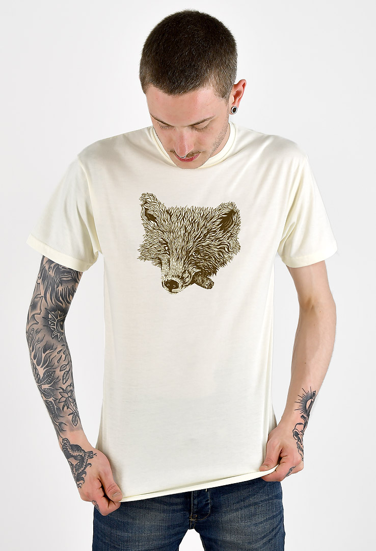 T-Shirt Smoking Fox