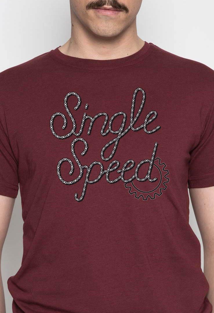 T-Shirt Single Speed – Bild 2