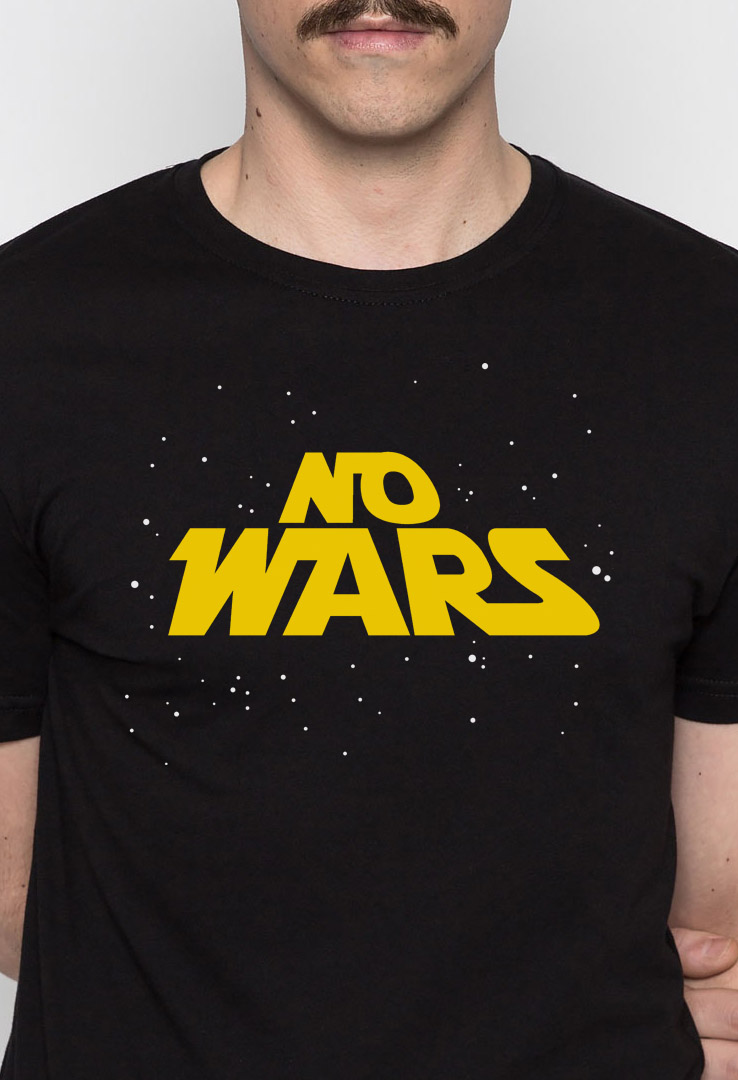 T-Shirt No Wars – Bild 2
