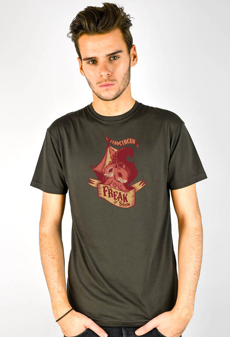 T-Shirt Freaky Squirrels