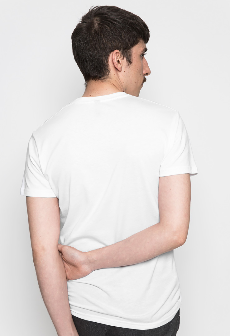Basic T-Shirt white – Bild 2