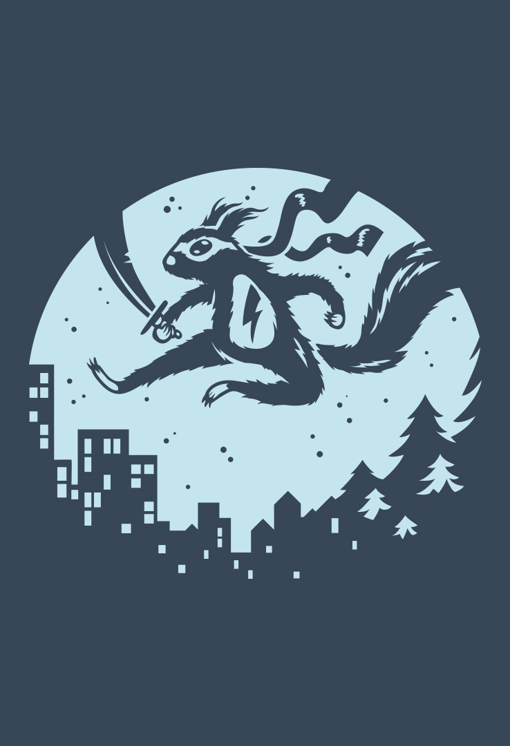 T-Shirt Natural Ninja