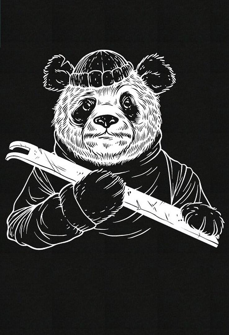 T-Shirt Bandito Panda