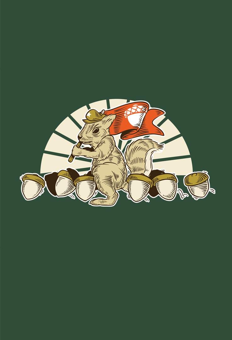 T-Shirt Hörnchen Revolution – Bild 2