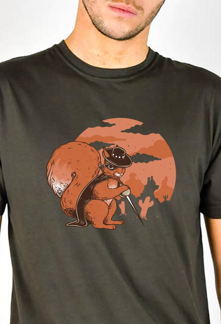 T-Shirt Zorro Hörnchen 70 – Bild 2
