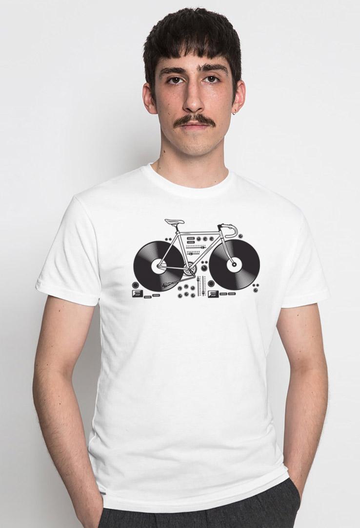 T-Shirt Tour de Vinyl