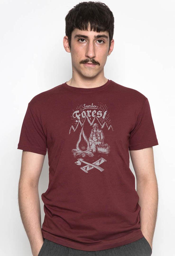 T-Shirt Lumber Forest – Bild 1