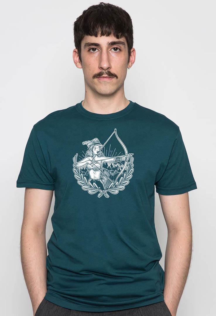 T-Shirt Frau Hood