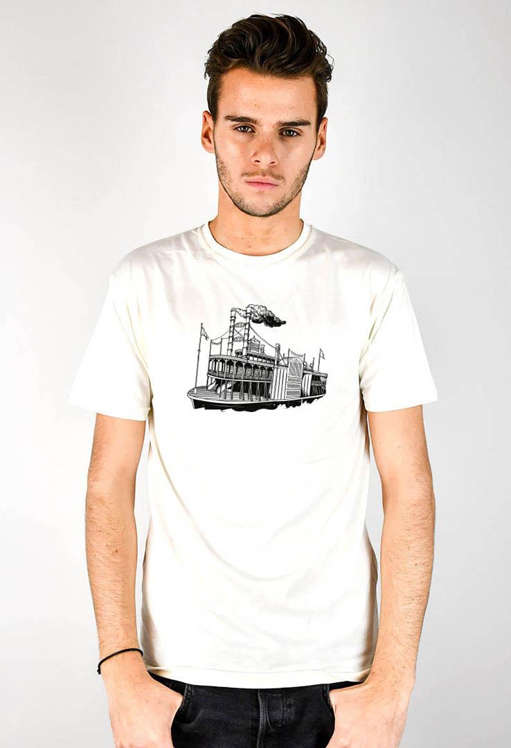 T-Shirt Raddampfer – Bild 2