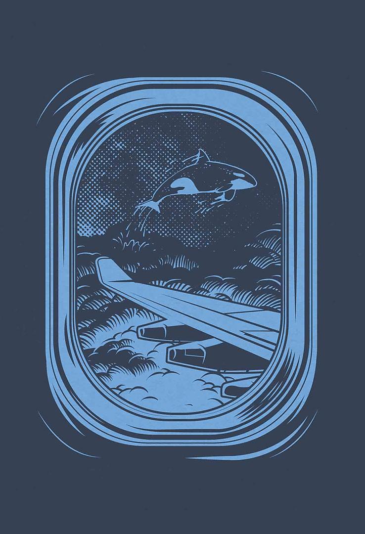 T-Shirt Wolkenfenster – Bild 2