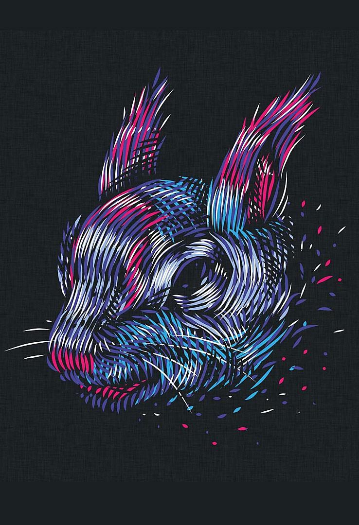 Eichkaterspace T-Shirt  – Bild 3