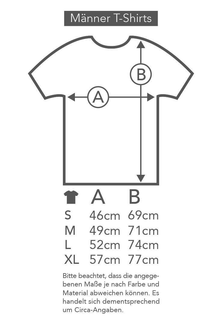 T-Shirt Gravitations Eck – Bild 3