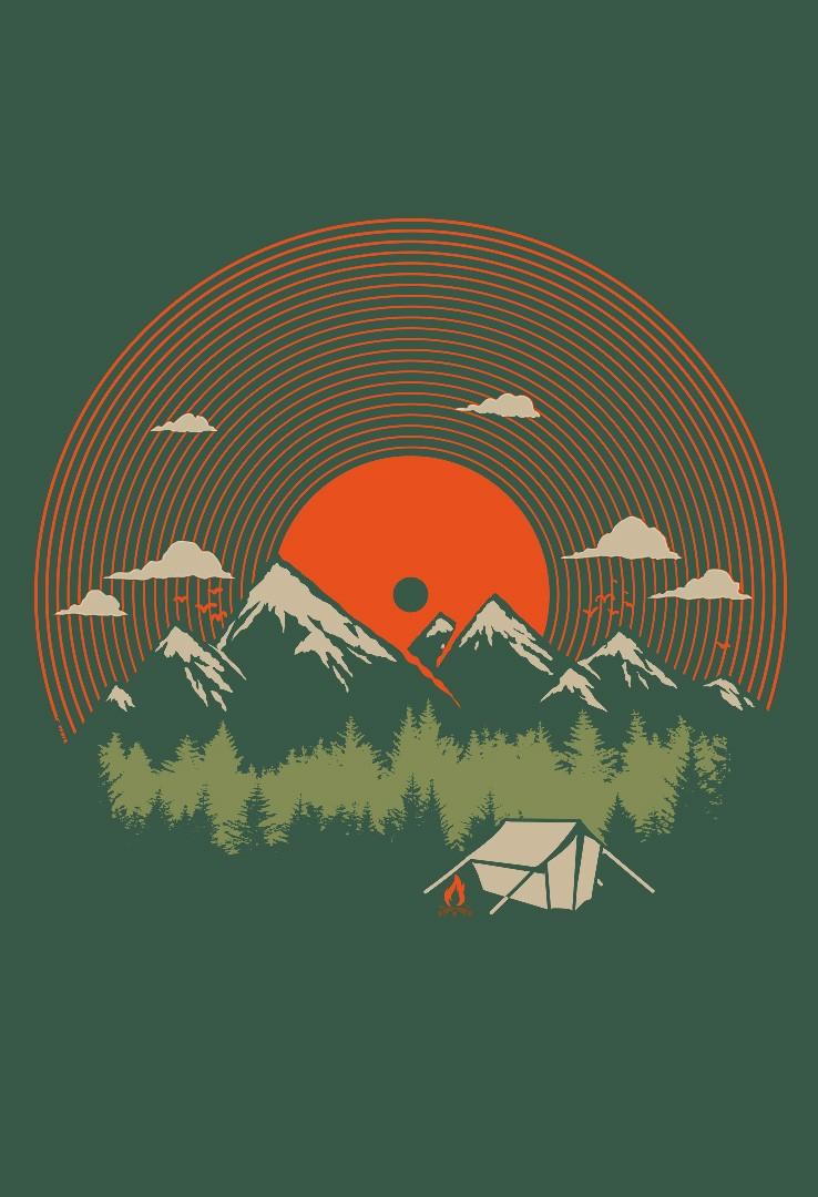 T-Shirt Der Klang der Wildnis – Bild 2